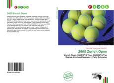 Bookcover of 2005 Zurich Open