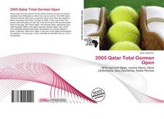 Portada del libro de 2005 Qatar Total German Open