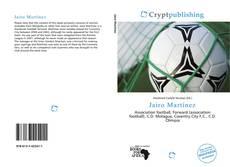 Capa do livro de Jairo Martínez