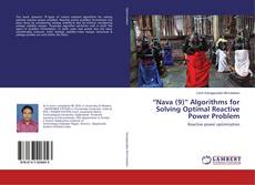 "Capa do livro de ""Nava (9)"" Algorithms for Solving Optimal Reactive Power Problem"