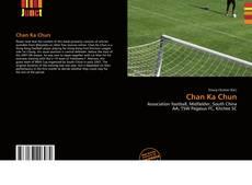 Chan Ka Chun kitap kapağı