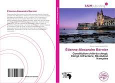 Couverture de Étienne-Alexandre Bernier