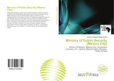 Capa do livro de Ministry of Public Security (Mexico City)