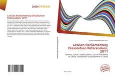 Borítókép a  Latvian Parliamentary Dissolution Referendum, 2011 - hoz