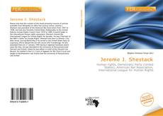Buchcover von Jerome J. Shestack