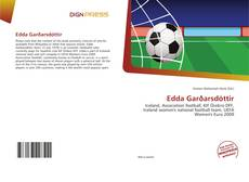 Edda Garðarsdóttir kitap kapağı