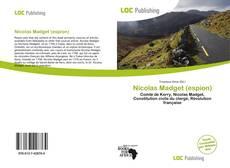 Portada del libro de Nicolas Madget (espion)