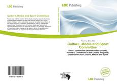 Copertina di Culture, Media and Sport Committee