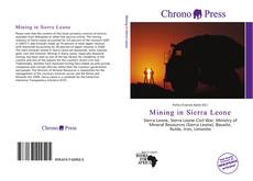Bookcover of Mining in Sierra Leone