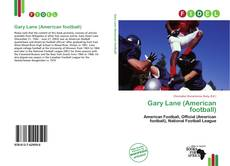 Bookcover of Gary Lane (American football)