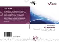 Kerson Huang kitap kapağı