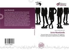 Capa do livro de June Rowlands