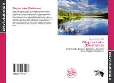 Portada del libro de Clayton Lake (Oklahoma)
