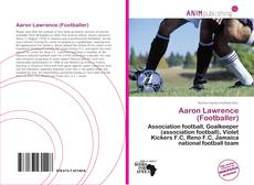 Bookcover of Aaron Lawrence (Footballer)