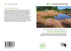 Couverture de Coal in South Africa