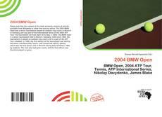 2004 BMW Open的封面