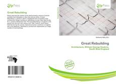 Bookcover of Great Rebuilding
