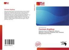 Buchcover von Carmen Argibay