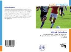 Alibek Buleshev kitap kapağı