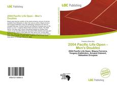 Copertina di 2004 Pacific Life Open – Men's Doubles
