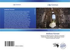 Couverture de Andrew Forrest