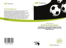 Askhat Kadyrkulov kitap kapağı