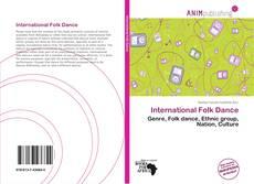 Buchcover von International Folk Dance