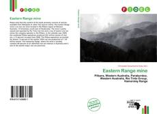 Eastern Range mine的封面