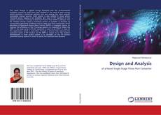 Bookcover of Design and Analysis