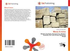 Bookcover of Mesa A mine