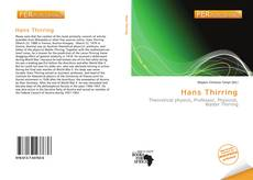 Bookcover of Hans Thirring