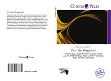 Bookcover of Cecilia Rognoni