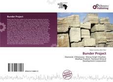 Bookcover of Bunder Project