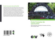 Capa do livro de École française de spiritualité