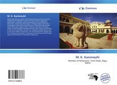 M. K. Kanimozhi的封面
