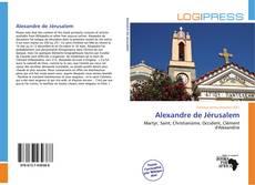 Buchcover von Alexandre de Jérusalem