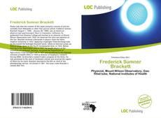 Buchcover von Frederick Sumner Brackett