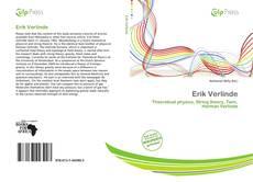 Capa do livro de Erik Verlinde