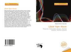 Capa do livro de Léon Van Hove