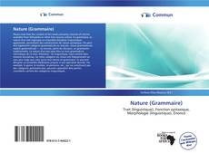 Bookcover of Nature (Grammaire)