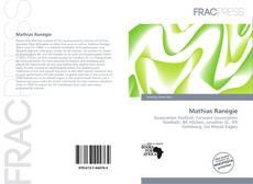 Portada del libro de Mathias Ranégie