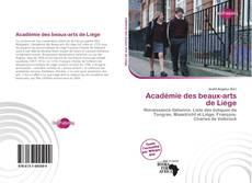 Copertina di Académie des beaux-arts de Liège