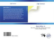 Bookcover of Alois Hitler, Jr.