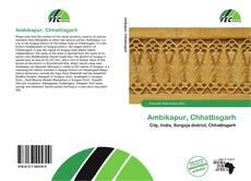 Bookcover of Ambikapur, Chhattisgarh