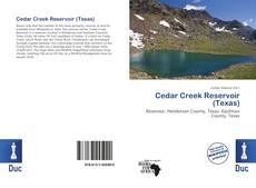 Bookcover of Cedar Creek Reservoir (Texas)