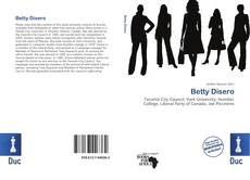Betty Disero的封面