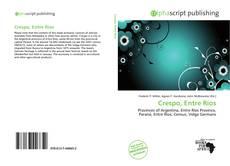 Buchcover von Crespo, Entre Ríos