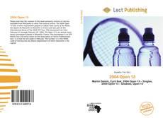 Buchcover von 2004 Open 13