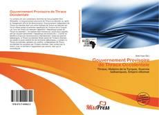 Bookcover of Gouvernement Provisoire de Thrace Occidentale