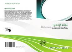 Capa do livro de Heinrich Liebe